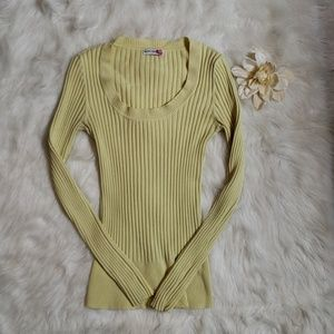 Body Central Ribbed Sweater